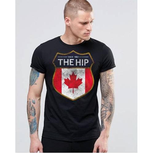 The Tragically Hip Distressed Logo T-Shirt