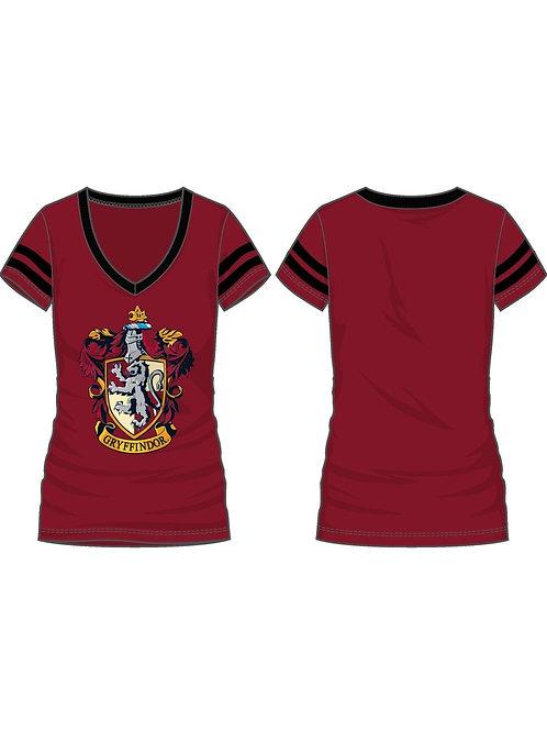 Harry Potter Gryffindor V-Neck