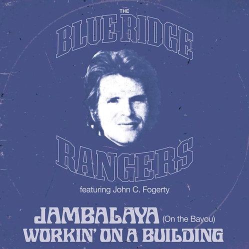 """John Fogerty Blue Ridge Rangers 13"""" Blue Vinyl"""