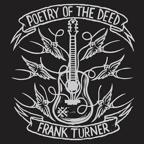 Frank Turner Poetry Of The Deed vinyl record front cover
