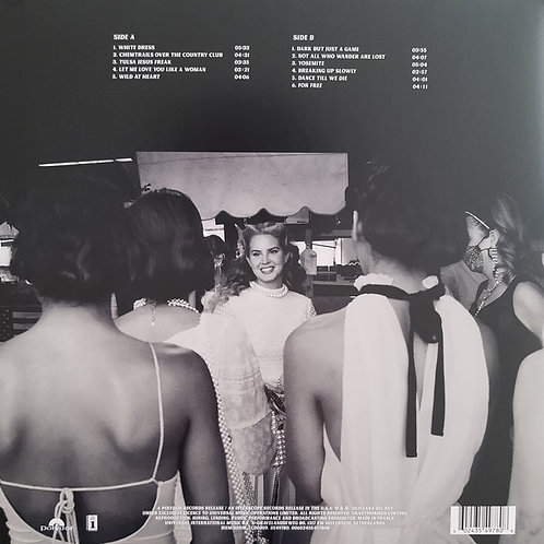 Lana Del Rey: Chemtrails Over The Country Club Vinyl Record