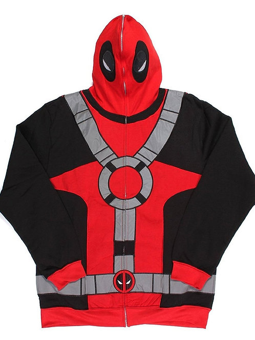 Deadpool Costume Hoodie