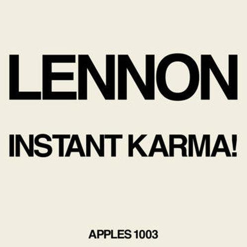 "John Lennon/ Yoko Ono: Instant Karma 7"" Vinyl Record"