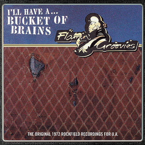 """THE FLAMIN' GROOVIES: I'll Have A Bucket Of Brains 10"""" Vinyl Record"""