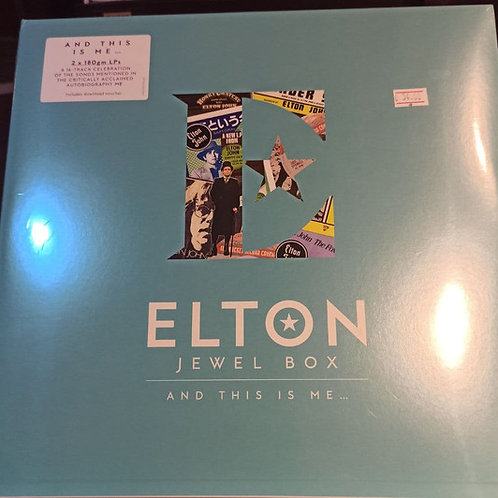 Elton John Jewel Box And This Is Me Vinyl Records