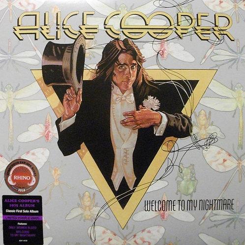 Alice Cooper: Welcome To My Nightmare Vinyl Record