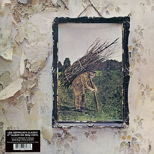 Led Zeppelin IV vinyl record