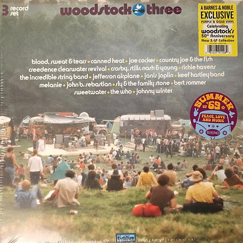 Woodstock 3 Vinyl record front