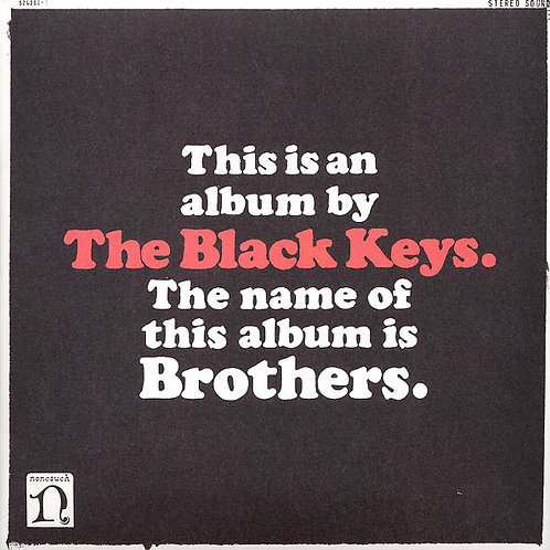 The Black Keys Brothers front cover