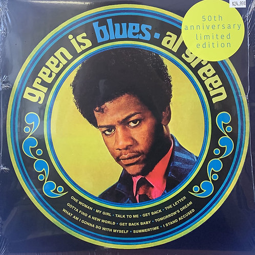 Al Green: Green Is Blue Colooured Vinyl Record