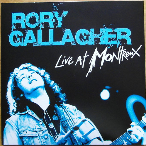 Rory Gallagher: Live At Montreaux Vinyl Record