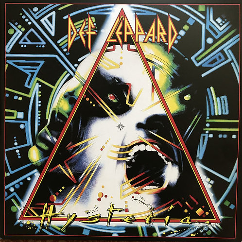 Def Leppard Hysteria Front Cover