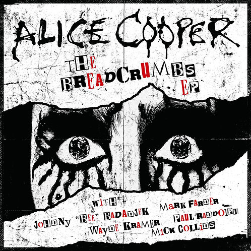 Alice Cooper Breadcrumbs EP Front Cover Vinyl Record