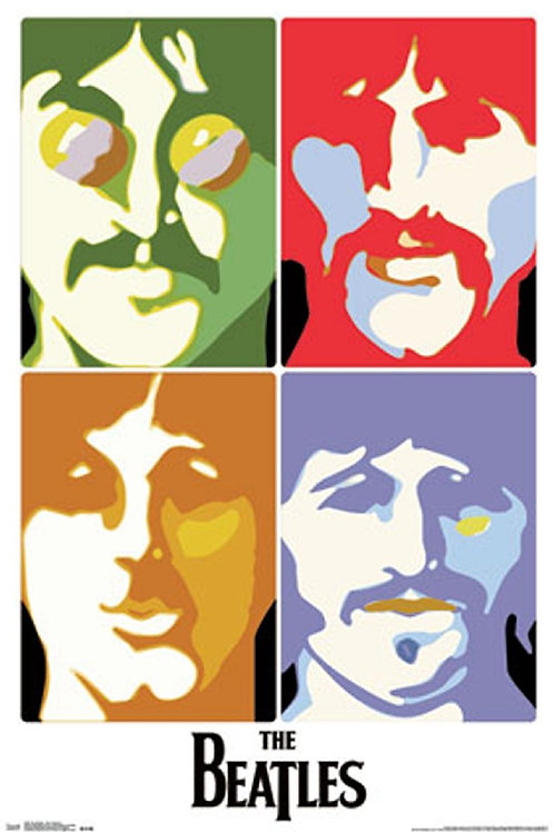 The Beatles: Sea Of Science Poster