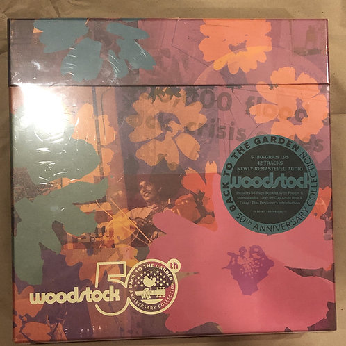 Woodstock: Back To The Garden 50th Anniversary Collection Box Set Front