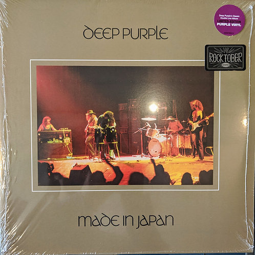 Deep Purple: Made In Japan PURPLE Vinyl Record Front Cover
