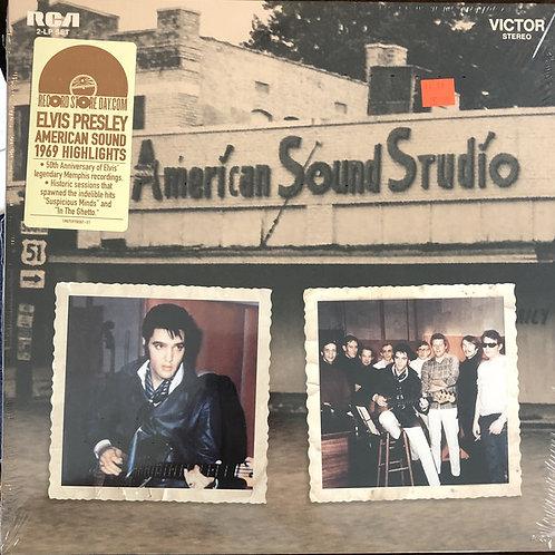 Elvis Presley: American Sound Studio 1969 Highlights Vinyl Record