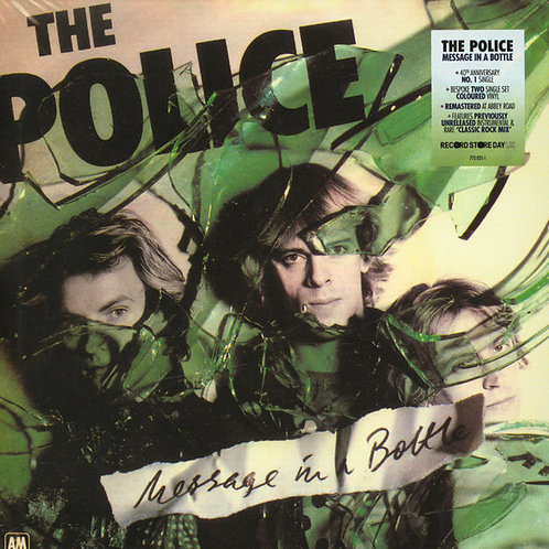 """The Police – Message In A Bottle 7""""45"""