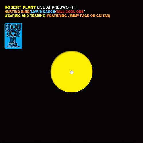 Robert Plant: Live At Knebworth 1990  Vinyl Record
