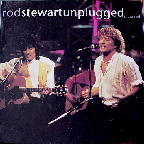 Rod Stewart Unplugged and seated front cover