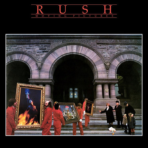 Rush:Moving Pictures Vinyl Record (200gr) Front Cover