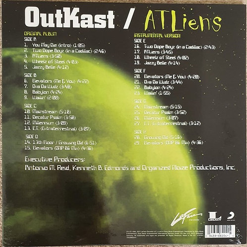 OutKast: Atliens 25th Anniverary 4 LP Set
