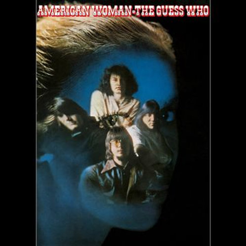 The Guess Who: American Woman 50th Anniversary Edition Translucent Blue Vinyl