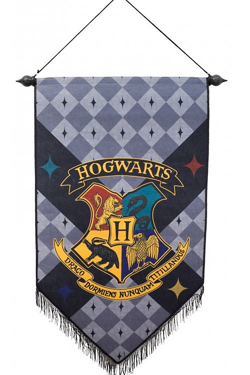 Harry Pottwart Hogwarts Felt Banner