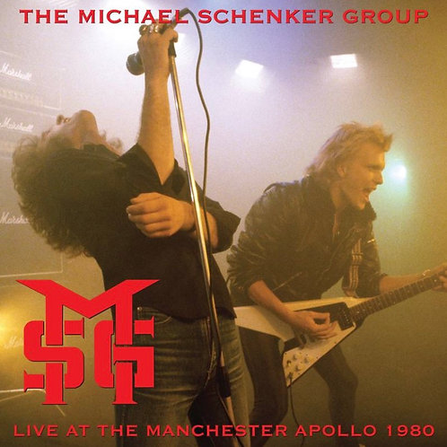 Michael Schenker Group: Live At The Manchester Group Vinyl Record