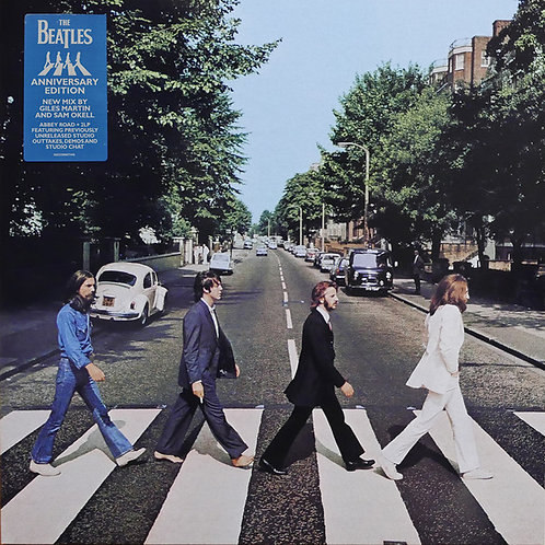 The Beatles: Abbey Road Anniversary Edition Vinyl Record Front Cover