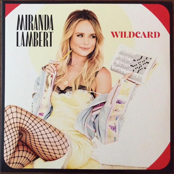 Miranda Lambert It All Comes Out In The Wash: Miranda Lambert: Wildcard Vinyl Record (Red)