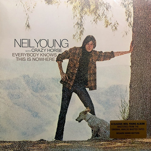 Neil Young: Everybody Knows This Is Nowhere Vinyl Record