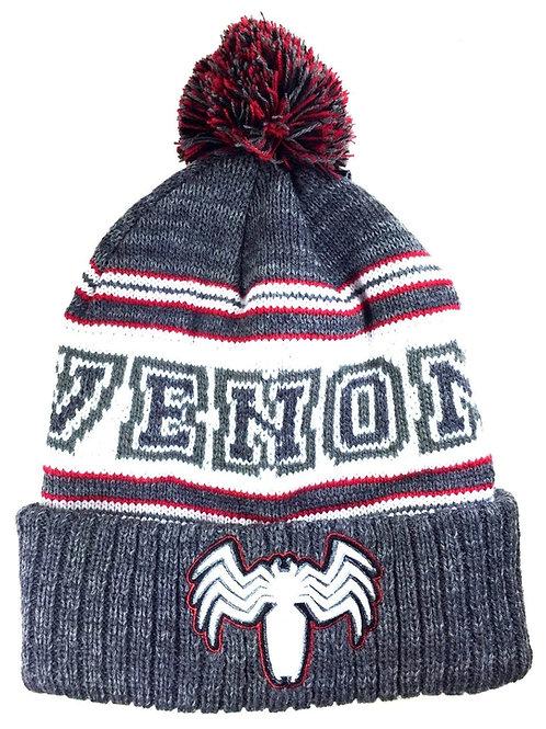 Venom Pom Cuff Beanie Toque