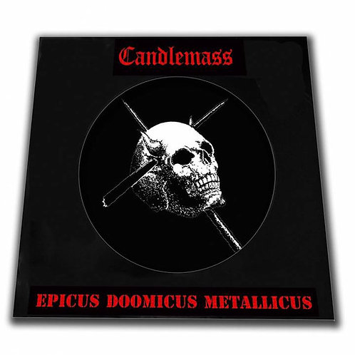 "Candlemass 12"" Picture Disc Epicus Doomicus Metallicus"