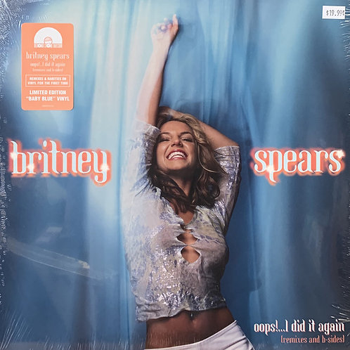 Britney Spears: Oops, I Did It Again Blue Vinyl Record