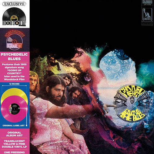 Canned Heat:  Living The Blues Vinyl Record