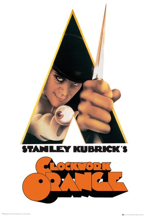 Stanley Kubrick's Clockwork Orange Movie Poster