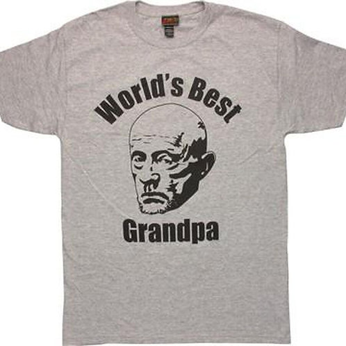 BETTER CALL SAUL: WORLD'S BEST GRANDPA T-SHIRT (MIKE)