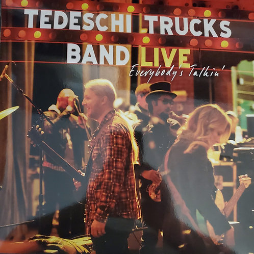 Tedeschi Trucks: Everybody's Talkin' Triple Blue Vinyl