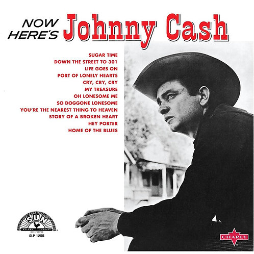 Now Here's Johnny Cash Red Vinyl Record