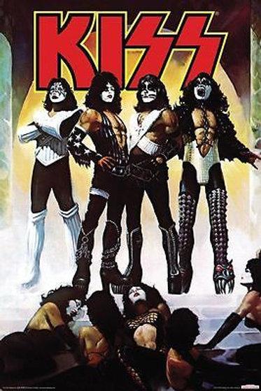 Kiss: Love Gun Poster