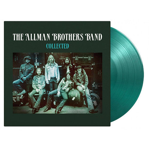 Allman Brothers Collected Works Green  Vinyl Record