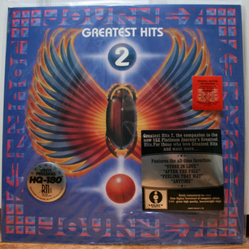 Journey Greatest Hits 2 Vinyl Record
