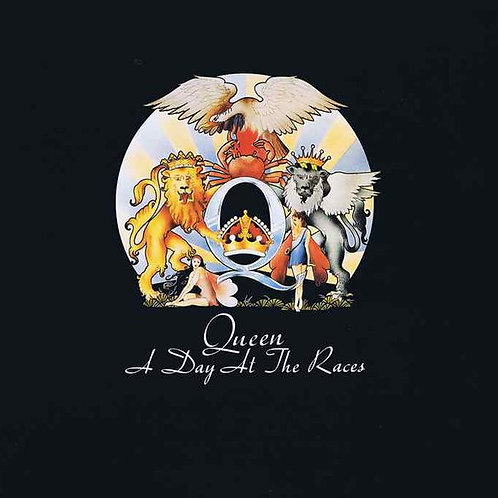 Queen: A Day At The Races Vinyl Record Front Cover