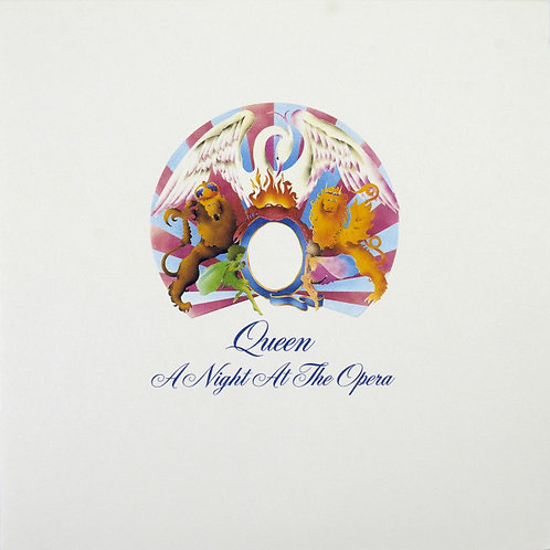 Queen: A Night At The Opera Vinyl Record front cover