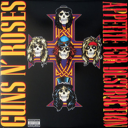 Guns N' Roses Appetite For Destruction Vinyl Record