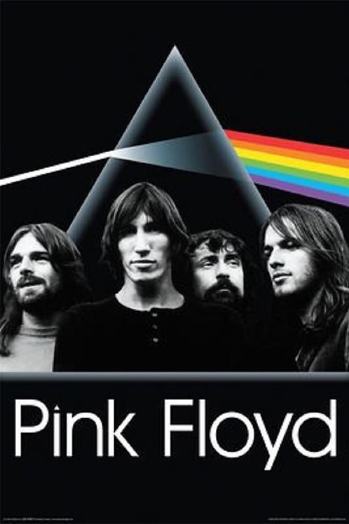 Pink Floyd: Dark Side Of The Moon Faces Poster