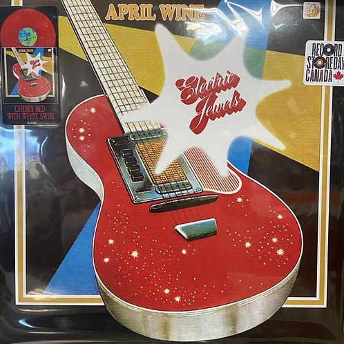 April Wine: Electric Jewels Red Vinyl Record