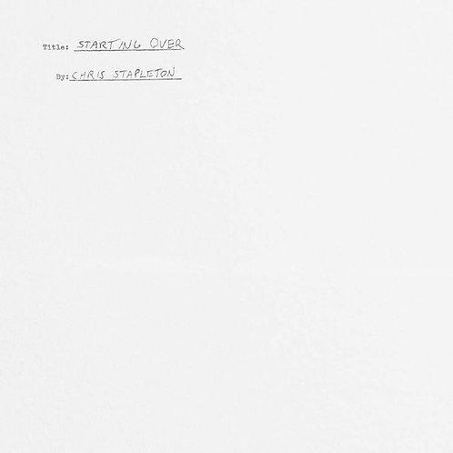 Chris Stapleton – Starting Over 180gr Vinyl Record