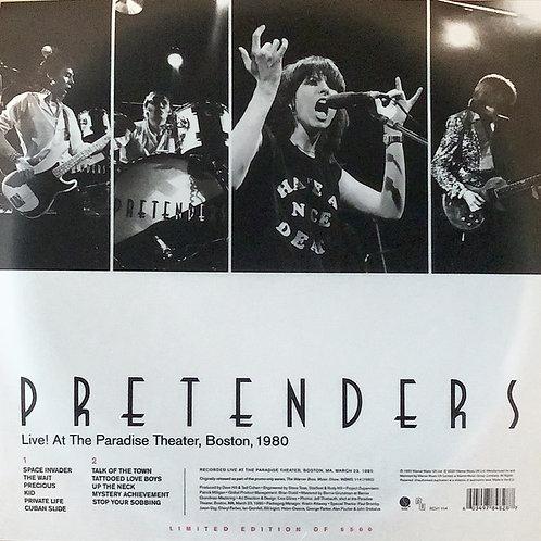 The Pretenders: Live! At The Paradise Theatre, Boston, 1980 Record